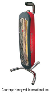 Figure 1: Radiant heater