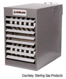 Figure 4: Unit heater
