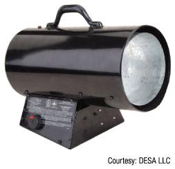 Figure 5: Utility heater